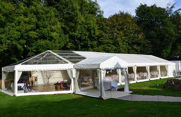 Marquee at Whitelady House