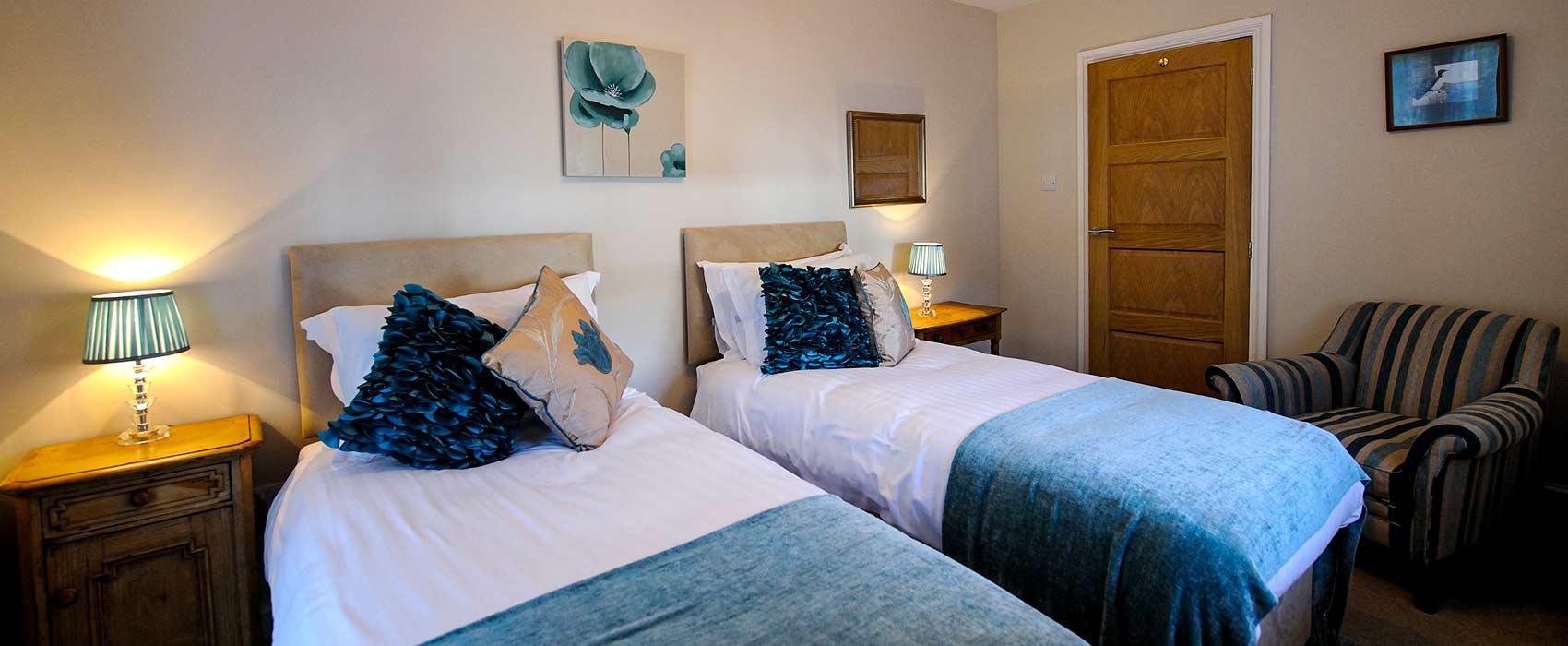 The Brentor Twin bedroom