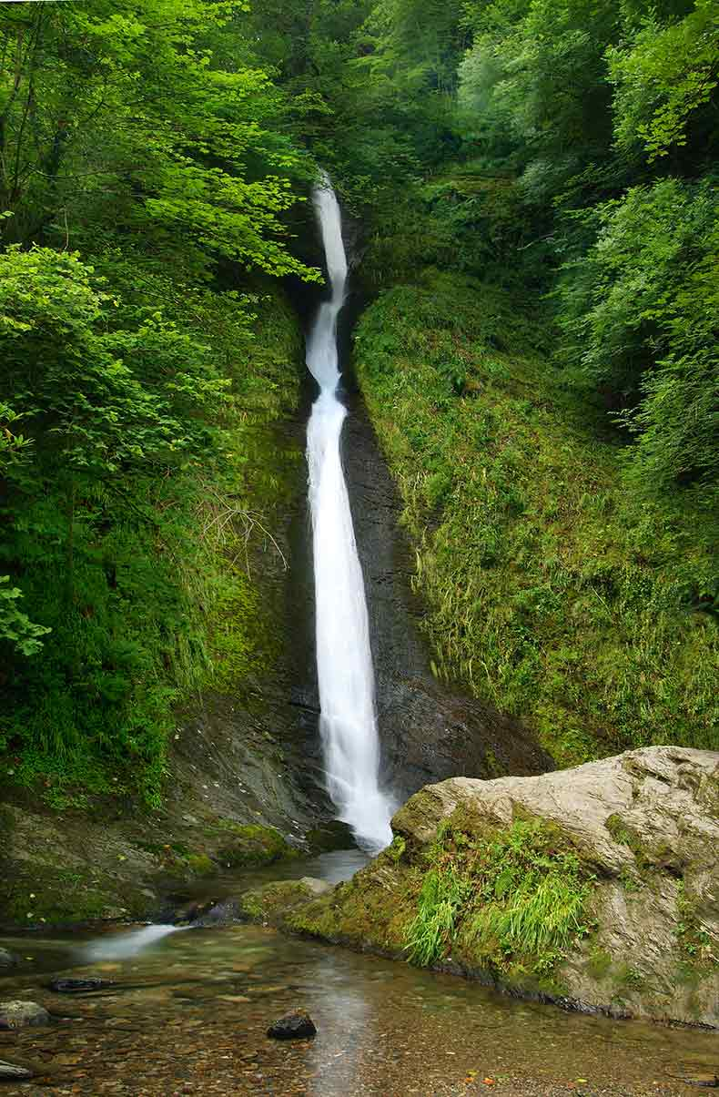 Whitelady Fall in Devon
